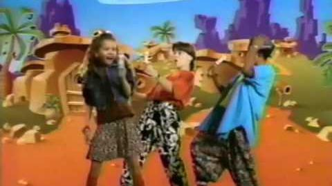90's Flintstones Push Up Commercial