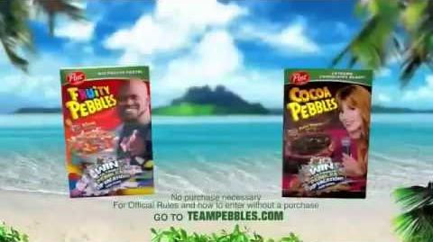 Fruity Pebbles Shaq O'Neal, Bella Thorne Commercial 2015