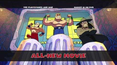 "From WWE Studios ""The Flintstones and WWE Stone Age SmackDown"""