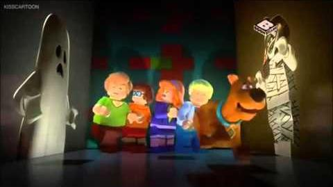 Lego Scooby-Doo Knight Time Terror Exclusive Intro.