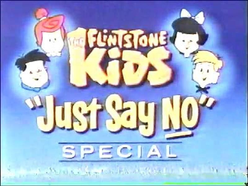 the flintstone kids quotjust say noquot special hannabarbera