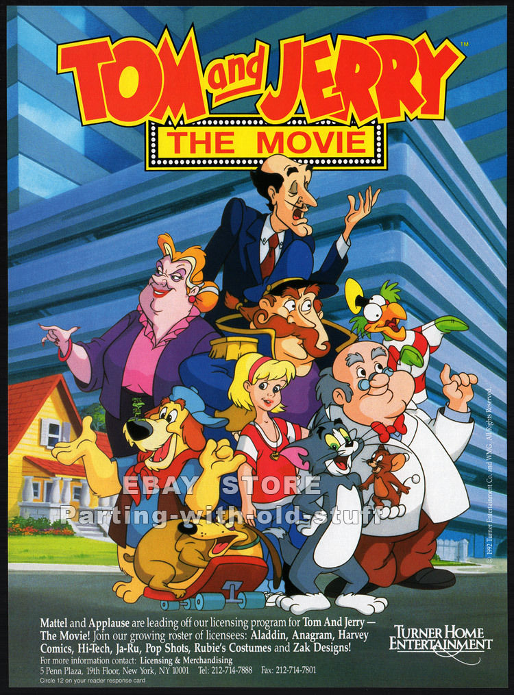 Tom and Jerry: The Movie   Hanna-Barbera Wiki   FANDOM ...
