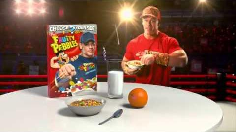 Fruity Pebbles TV Commercial, 'Pick Your Pebbles Fruity' Featuring John Cena