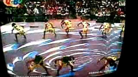 Showtime in ABS-CBN 2 01 2010 Cebu Special (Flintstones Dancers)
