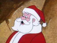 Santa in A Flintstone Christmas