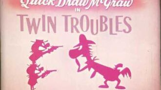 """Quick Draw Mcgraw """"Twin Troubles"""" 16mm"""