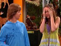Miley with headache