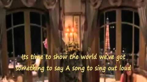 Final de Hannah Montana Forever- Wherever I Go (Donde sea que vayas) - con letra