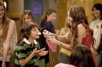 Me And Rico Down By The School Yard Hannah Montana Wiki Fandom