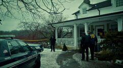 Will's house crime scene