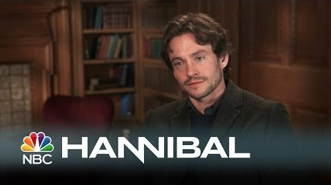 Hannibal - Hugh Dancy Talks Playing Will (Interview)