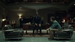 1x02 - Hannibal con Will