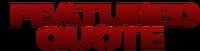 FeaturedQuote