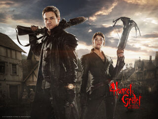 Hansel & Gretel-Witch Hunters poster 4