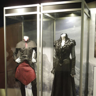 Horned Witch and Muriel's costumes.