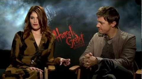 Jeremy Renner & Gemma Arterton Interview -- HANSEL & GRETEL WITCH HUNTERS