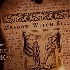 Meadow witch killed.