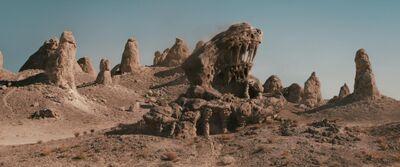 Desert locale