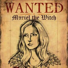 'Wanted' poster.