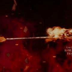 An image of a flaming arrow.