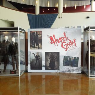 Hansel, Gretel & Tall Witch's costumes.