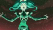 Dark mint being attacked