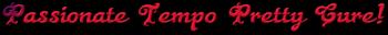 Passionate Tempo Pretty Cure! Logo