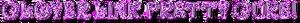 Clover Link! Pretty Cure logo!