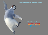 Happy Feet Three - Mumble's Poster (Fanon)