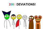 2000 DEVIATIONS