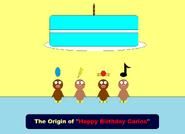 The Origin of Happy Birthday Carlos Title