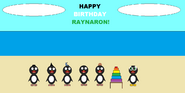 The Five Amigos celebrate Raynaron's birthday