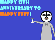 Happy Feet's 12th Anniversary
