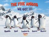 The Five Amigos