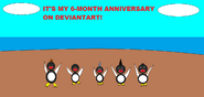 Happy Feet - IT'S MY 6-MONTH ANNIVERSARY ON DEVIANTART!