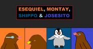 Esequiel, Montay, Shippo & Josesito title