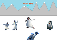 Happy Feet Three (New Background and Title)