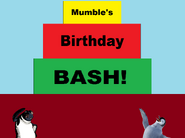 Mumble's Birthday Bash Title