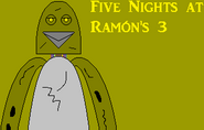 Five Nights at Ramón's 3 Poster