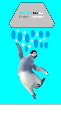 Mumble's ALS Ice Bucket Challenge Poster