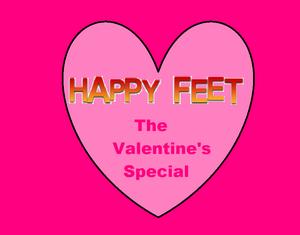 Happy Feet The Valentine's Special Logo