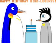 Happy Birthday Bird-Lover25 (2017)