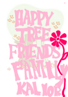 Happy tree friends family kailor logo