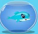 Blue Mini Dolphin
