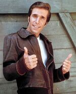 Fonzie happy days