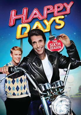 Happy Days Season 6 DVD cover