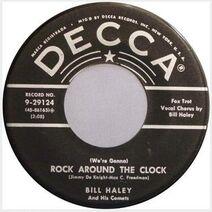 Rock Around the Clock label