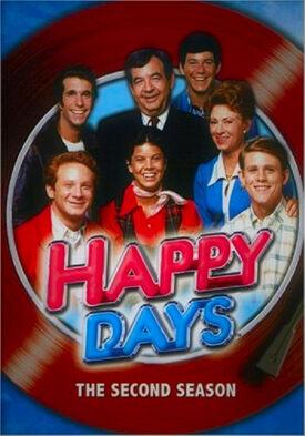Happy Days Season 2 DVD cover