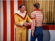 Richie on the Howdy Doody Show