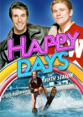 Happy Days Season 5 DVD cover